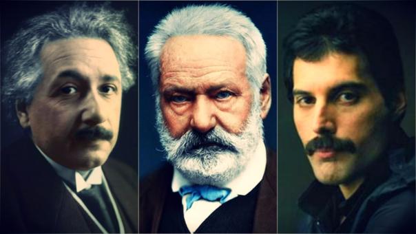 Diferentes circunstancias alejaron a estos personajes de sus países de origen.