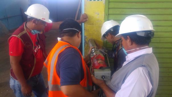 Especialistas de la UNP trabajan en coordinación con el Colegio de Ingenieros.