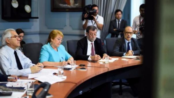 Michelle Bachelet involucrada en casos de corrupción con la brasileña OAS.