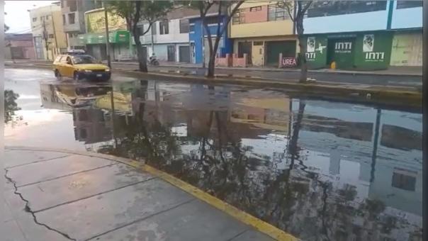 Lluvia en Trujillo