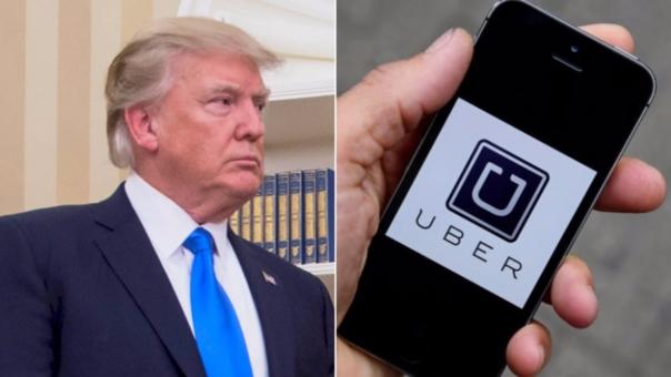 El cofundador de Uber se aleja de Donald Trump.