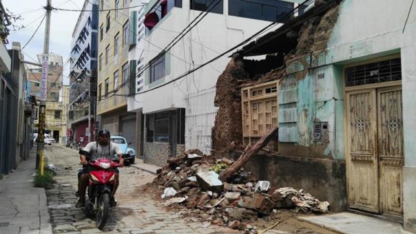 Recinto se desplomó en el centro de la ciudad