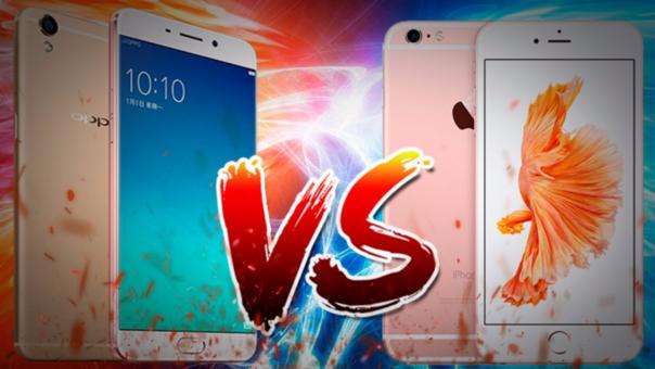 OPPO R9 vs iPhone 6S
