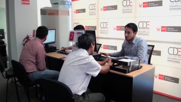 Solo en los Centros de Desarrollo Empresarial se realizan los tramites de formalización totalmente de manera gratuita.