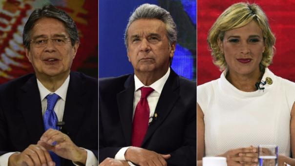 Moreno, Lasso y Viteri son los favoritos para llegar a la presidencia de Ecuador.