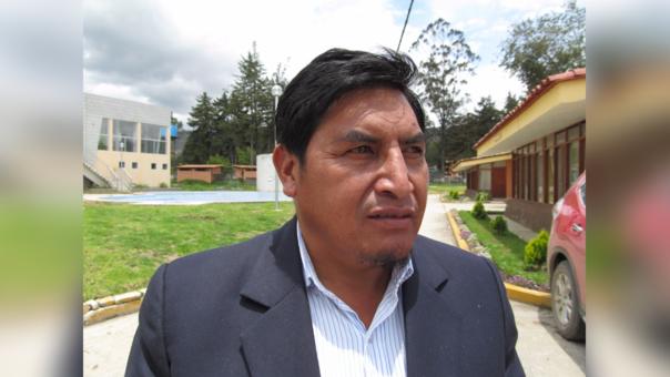 Alcalde Distrital de Baños del Inca, Teodoro Palomino