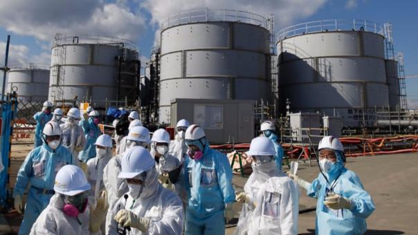 La central de Fukushima se vio afectada por el terremoto y tsunami de Japón en el 2011.