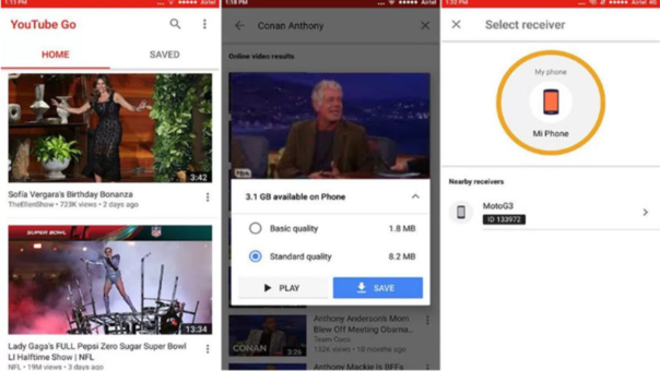 YouTube GO se diseñó para aquellos países que nos disfrutan de muy buenas conexiones a internet.