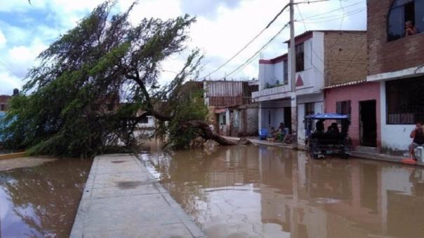 Zona afectada en Chiclayo