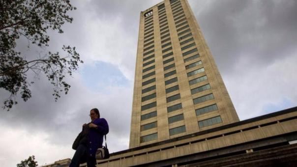 La Torre Humboldt, en la que se encuentran las oficinas de Odebrecht en Caracas, Venezuela.