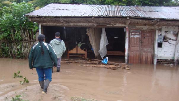 Las viviendas afectadas alcanzan las 77, 599 en todo el país.