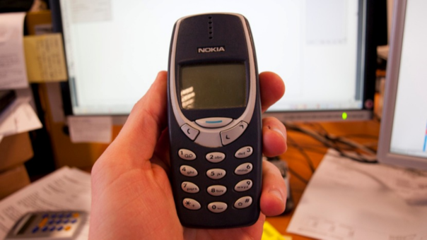 El Nokia 3310 fue un éxito de ventas durante su primer lanzamiento.