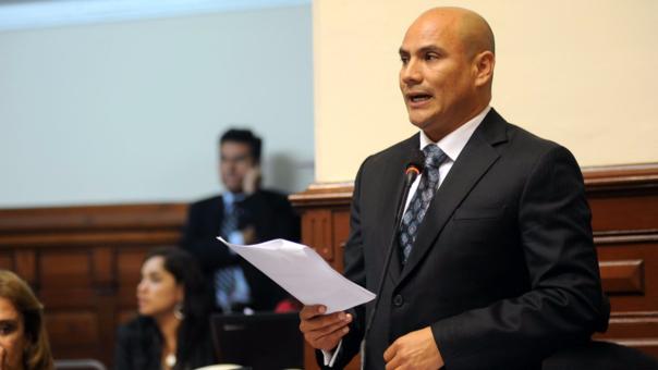 Joaquín Ramírez fue congresista de la República por el fujimorismo en el período 2011-2016.