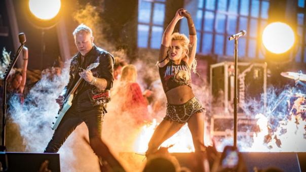 Lady Gaga es el quinto miembro — Metallica declara