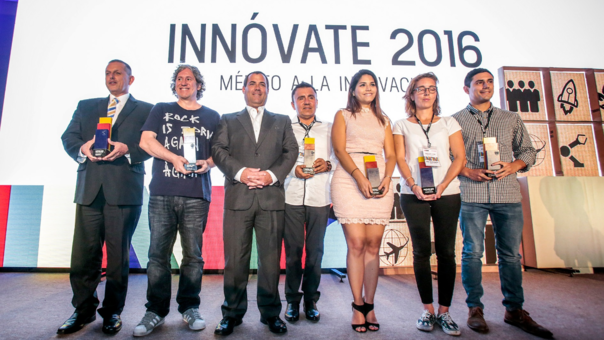 El premio Innóvate 2016 reconoció a empresas en cinco categorías: Medio Ambiente, Social, Startup, Tecnología y Mundo.