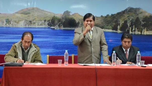 Autoridades expresaron su indignación den conferencia de prensa.