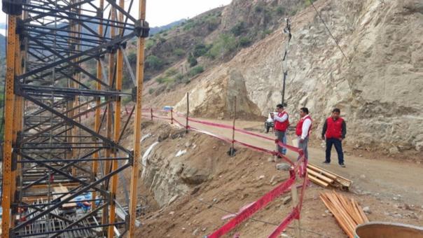 Inspeccionan puente Chacanto