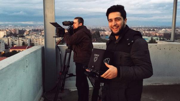 Khaled Khatib es un voluntario de los Cascos Azules y trabajó para Netflix en el cortometraje 'White Helmets'.