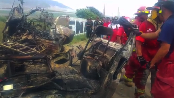 Accidente en Trujillo