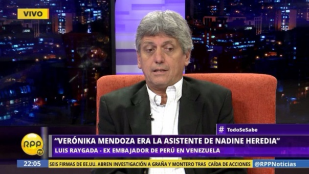 Luis Raygada también habló sobre la participación de Verónika Mendoza en el Partido Nacionalista.
