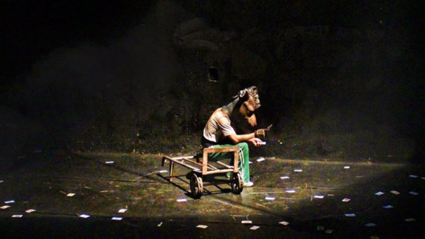 Obra 'Curandero, limpia escénica' (Perú)