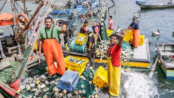 En el país hay aproximadamente 50,000 hombres dedicados a la pesca artesanal en el litoral peruano.