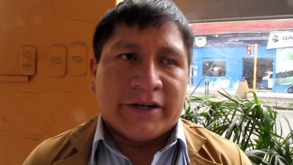 subprefecto de la provincia de San Pablo, James Bazán Gonzales