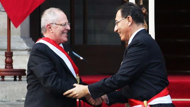PPK respaldó a su ministro y vicepresidente Martín Vizcarra.