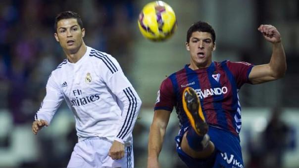 Cristiano Ronaldo se entrena aparte, incierto para el Eibar