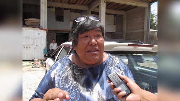 Teresa Cueva Cacho, Presidenta de la Asociación de Transportistas de Cajamarca