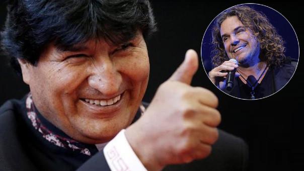 Evo Morales responde a vocalista de Maná por pedir mar para Bolivia