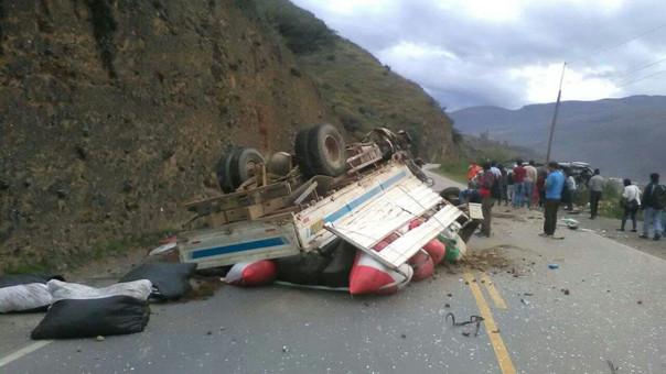 Accidente en Huánuco