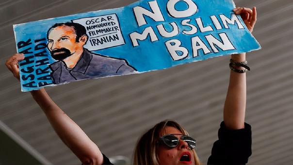 Los países prohibidos tienen mayoría de población musulmana.