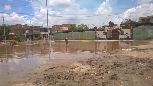 Colegios afectados por lluvias