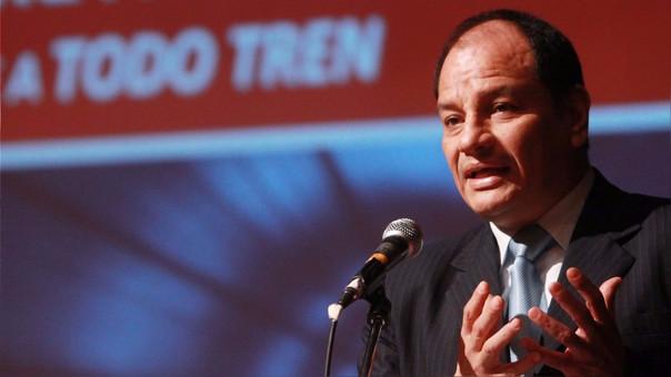 El expresidente de la Autoridad Autónoma del Tren Eléctrico de Lima, Oswaldo Plasencia, también afrontaría una acusación fiscal por el caso.