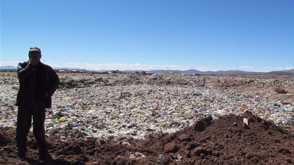 La primera opción para llevar la basura es el exbotadero en el sector Chilla.