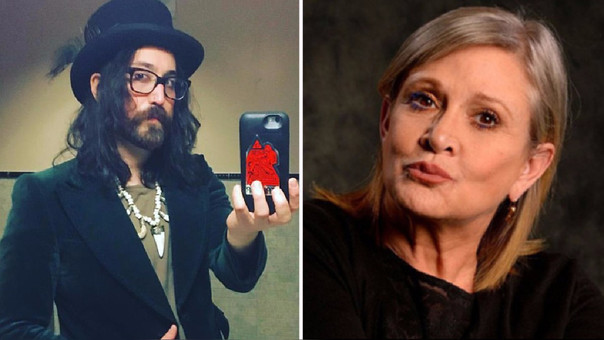 Sean Lennon considera a Carrie Fisher