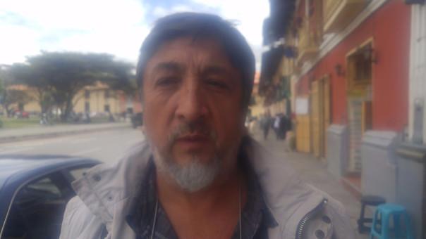 Fredy Silva Saénz, Presidente de la Asociación de Transportes y Pasajeros de Cajamarca (ASEMTRAC)