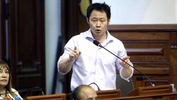 Kenji Fujimori es congresista desde el 2011.