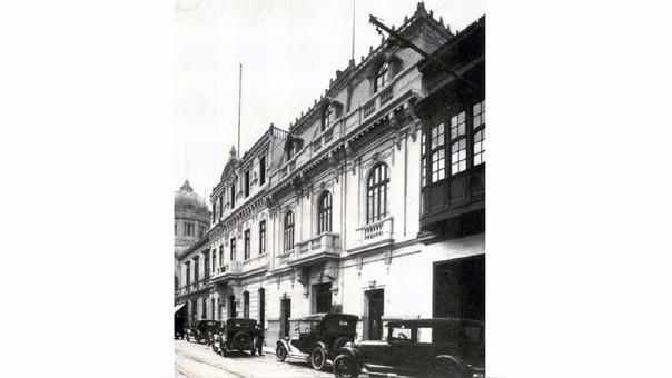 Primer local del Banco en la segunda cuadra del jirón Miró Quesada en Cercado de Lima.