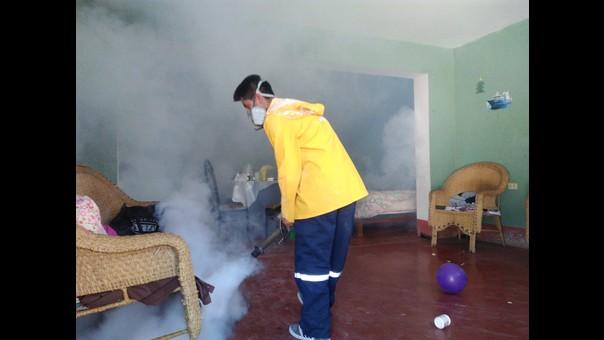 Fumigación en Coishco