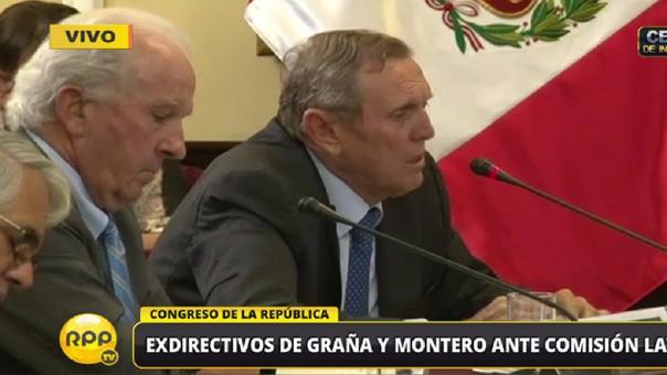 El empresario sostuvo que Graña y Montero es una empresa que siempre ha venido actuando de acuerdo a la ley.