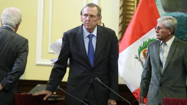Jorge Graña se presentó este viernes ante la Comisión Lava Jato del Congreso.