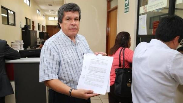 Heriberto Benítez es el abogado de Alejandro Toledo.