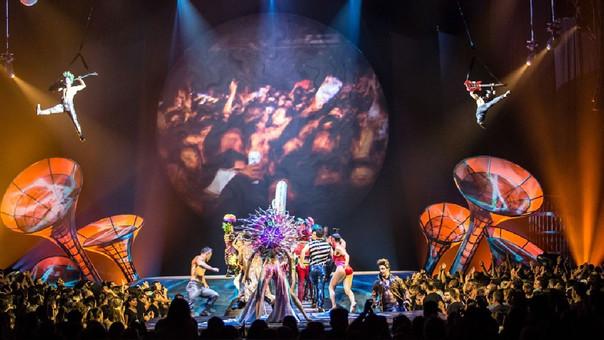 El Cirque Du Soleil viene trabajando desde hace más de un año en este espectáculo