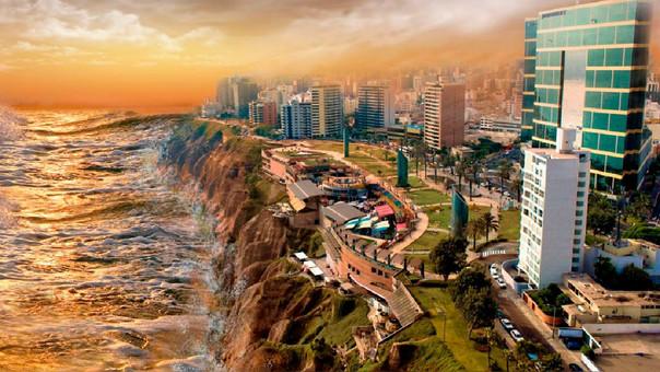 Mapa  Conoce las zonas de inundacin ante tsunami en Lima