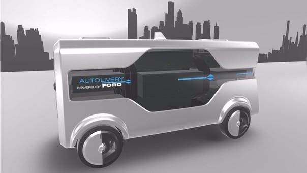 MWC 2017: Ford presentó el servicio de entregas del futuro