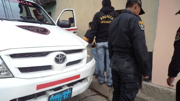 Efectivos de Radiopatrulla trasladaron a la pareja hasta el Hospital Regional de Cajamarca pero ambos llegaron sin vida