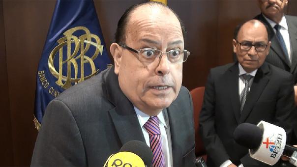 El presidente del BCR, Julio Velarde, considera que las lluvias tendrán un efecto bajo en la inflación.
