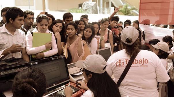 Más de la mitad de los desempleados en Lima son jóvenes